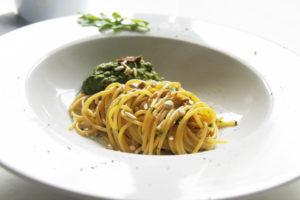 Spaghettini mit Rucola - Sauce