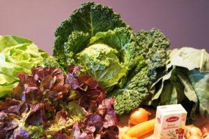 Gemüse Obstkiste