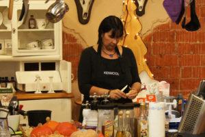 Show-Cooking im Einrichtungshaus Pörtner-Lebensart